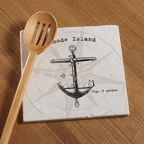 Tile Trivet - Anchor