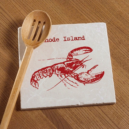 Tile Trivet - Red Lobster