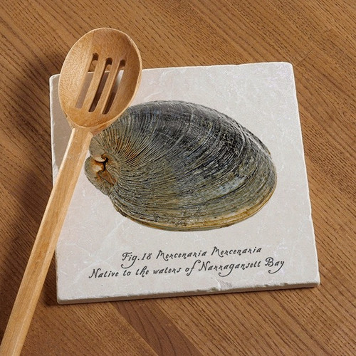 Tile Trivet - Native Quahog