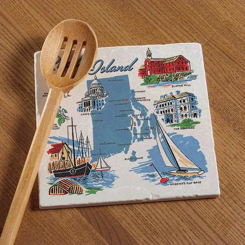 Tile Trivet - Rhode Island Images