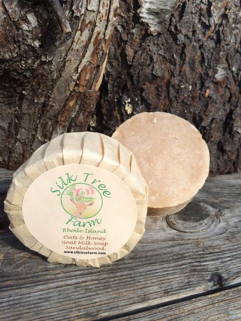 Oats and Honey Goat Milk Soap- Sandalwood