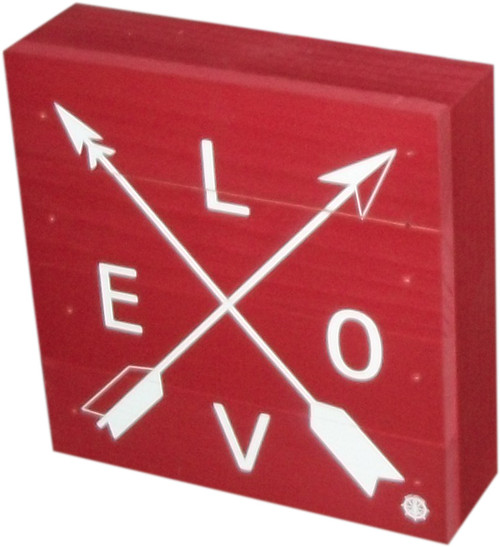 Box with symbol of Love- Red