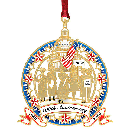 Womens Right To Vote  Ornament