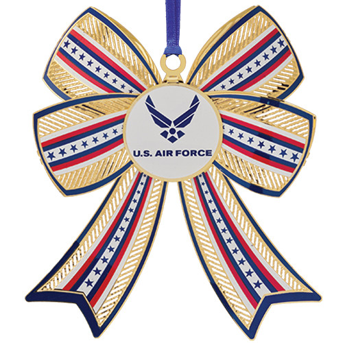 United States Air Force 3D Bow Ornament