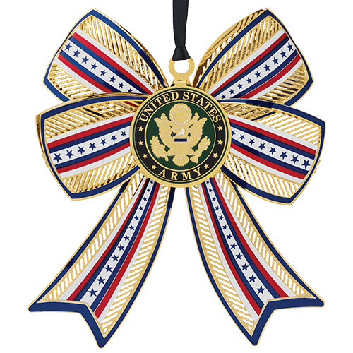United States Army3D Bow Ornament