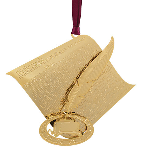 Constitution with Quill Ornament