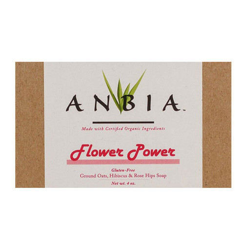 ANBIA  Flower Power Bar Soap