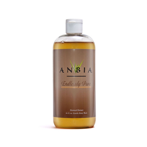 ANBIA Castile Body Wash Soap (16 fl oz) -  Endlessly Pure