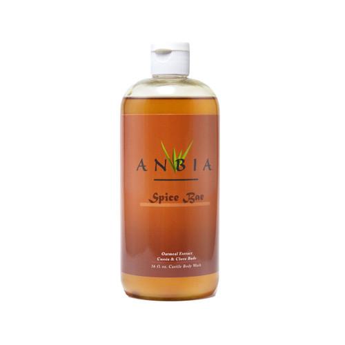 ANBIA Castile Body Wash Soap (16 fl oz) -  Spice Bae