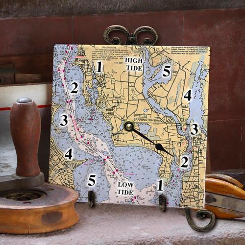 Tile Tide Clock- Barrington