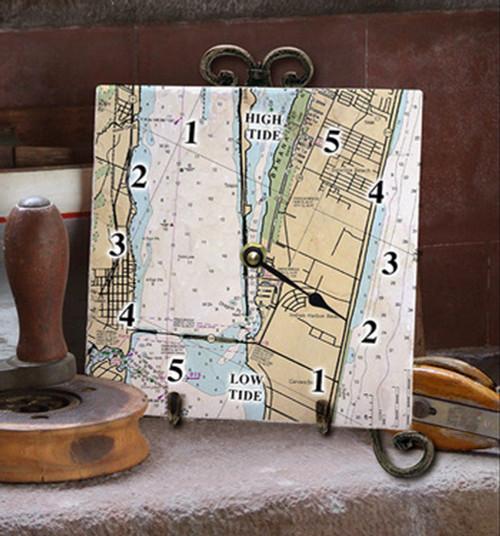 Tile Tide Clock- FL 11472