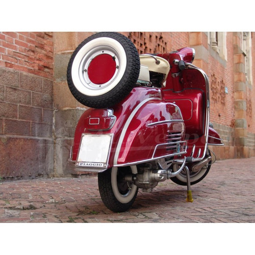 Candy Apple Red VBC Vespa