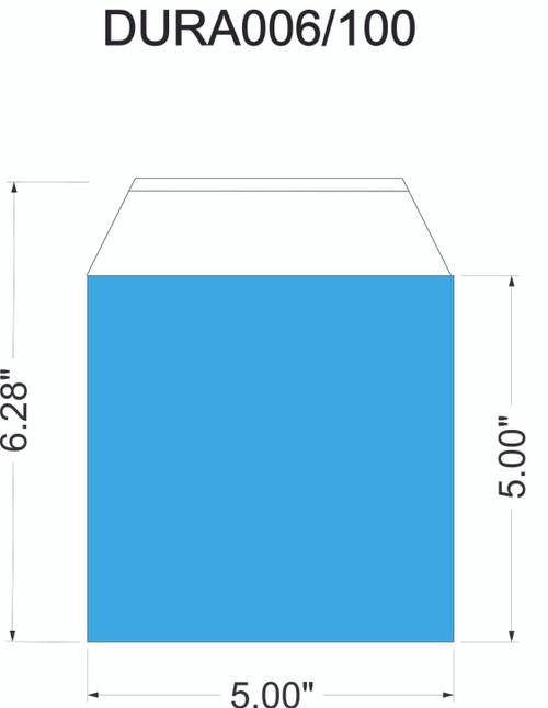 Duraholder  006 - 1 Pocket with Tape