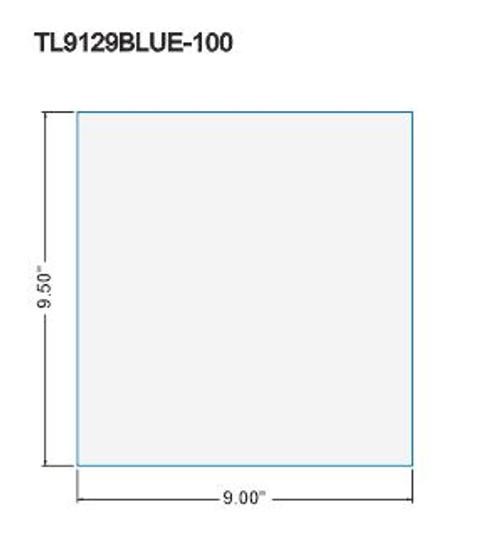 Blue Basket Tray Liner - TL9129BLUE