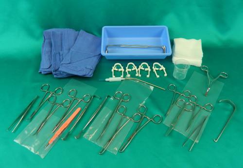 Tracheotomy Tray