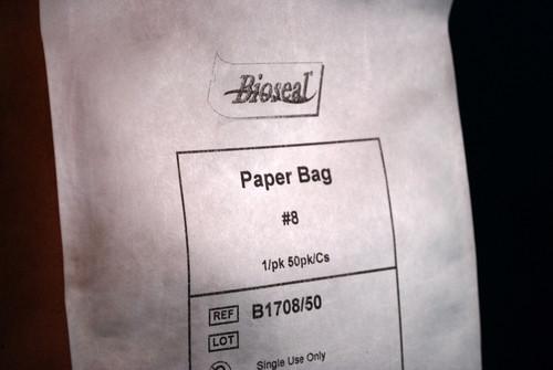 Bag Paper # 8, 1/pk 50/pk/cs