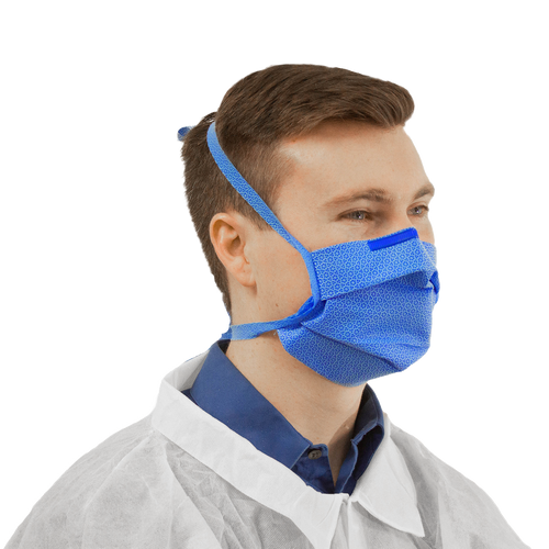 Face Masks-Single filtration layer with dual ties