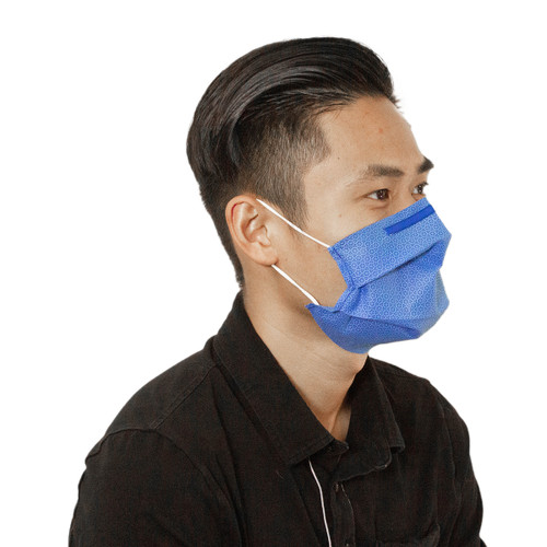 Face Mask-Dual filtration layer with ear loops