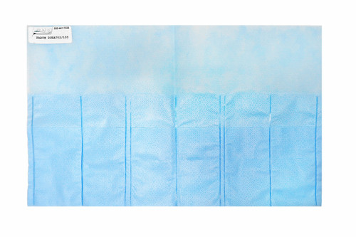 Duraholder 702 - 6 Pocket 2 Rows with Slits