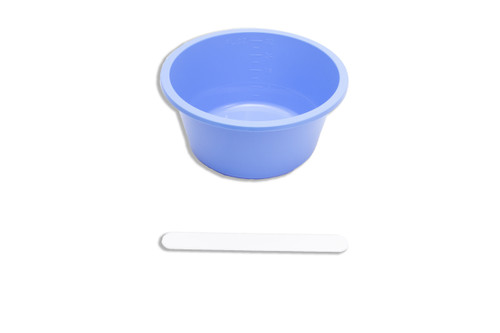 Solution Bowl with Large Spatula