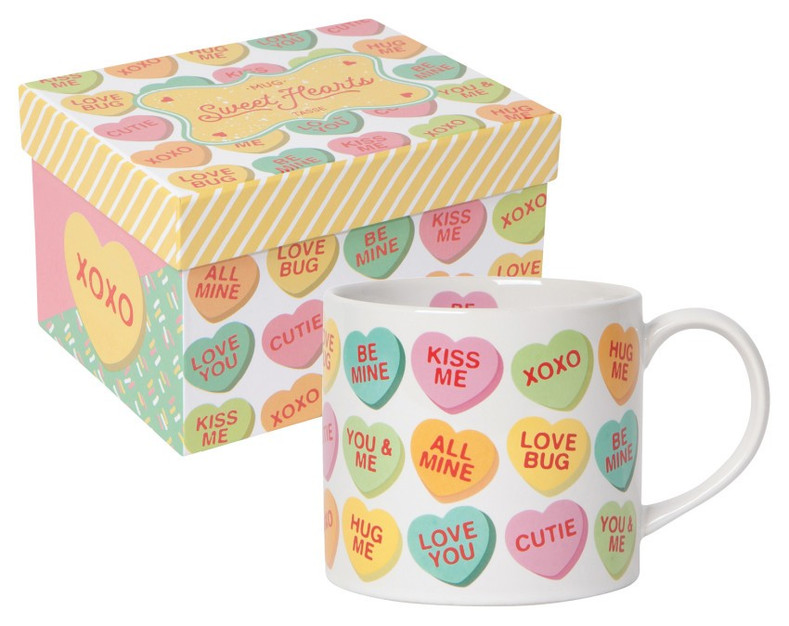 Valentine's Day Gift Ideas With Candy Hearts For Kids and Kitchens