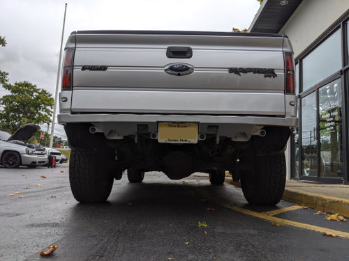 Gen 1 Raptor / Gen12 F150 Rear Dove Tail Bumper