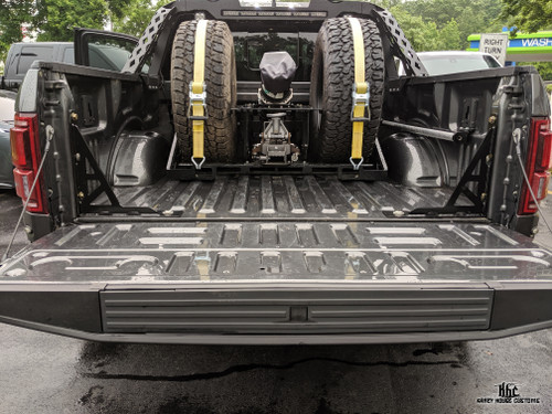 KHC Ford Raptor Bolt in bed supports