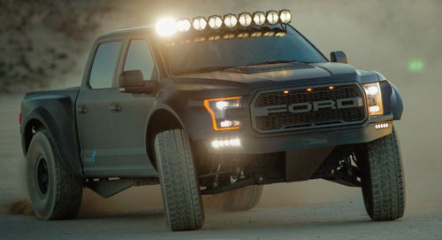 "Gravity® LED Pro6 15-19 Ford F-150/Raptor 9-Light 57"" LED Light Bar"