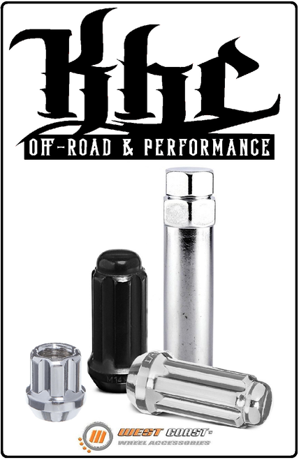 Ford F150 & Raptor Replacement Lug Nut Kits