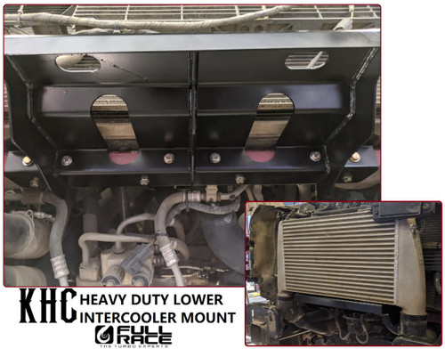 KHC HEAVY DUTY LOWER INTERCOOLER MOUNT (GEN 2 RAPTOR & GEN 13 F150)
