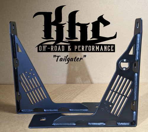 "KHC Ford Raptor/F150  Bolt in bed supports ""Tailgater Edition"""