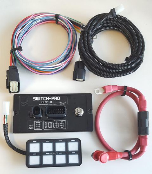 SP-9100 8 SWITCH PANEL POWER SYSTEM
