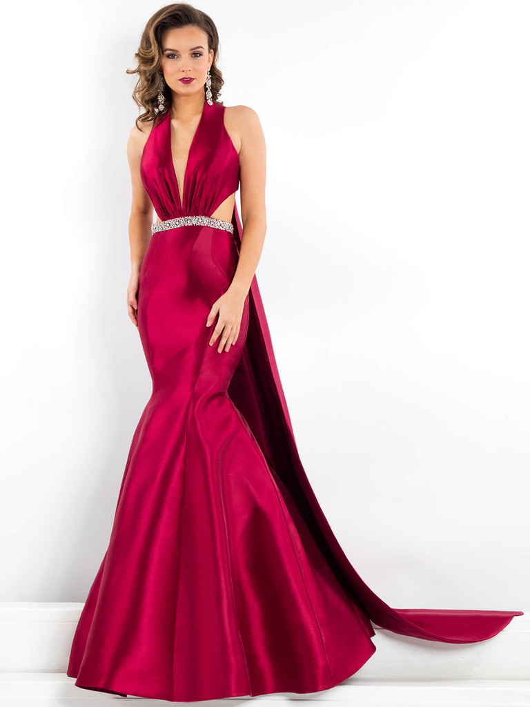 Cut Out Bodice Prima Donna 5951 Pageant Dress
