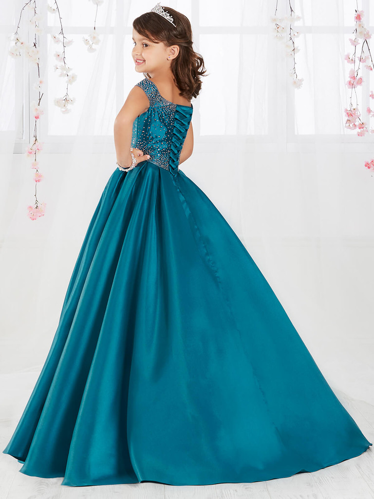 Off The Shoulder Girls Pageant Dress Tiffany Princess 13554