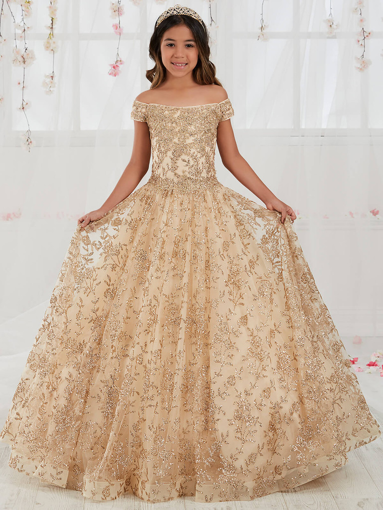 Floral Tiffany Designs 13557 Pageant Dress PageantDesigns