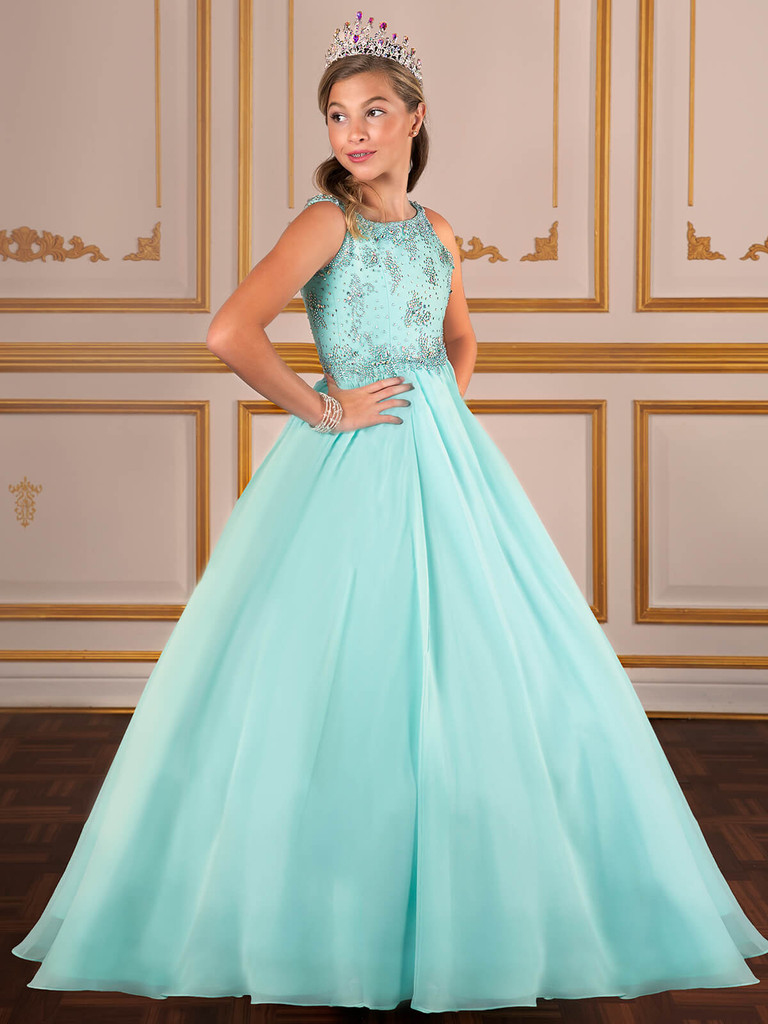 Chiffon Tiffany Designs 13579 Pageant Dress PageantDesigns