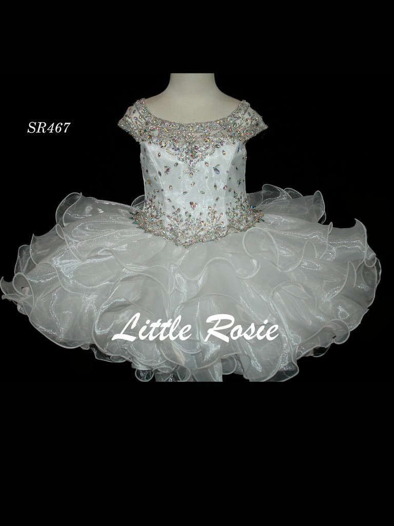 Beaded Little Rosie SR467 Girls Pageant Dress PageantDesigns