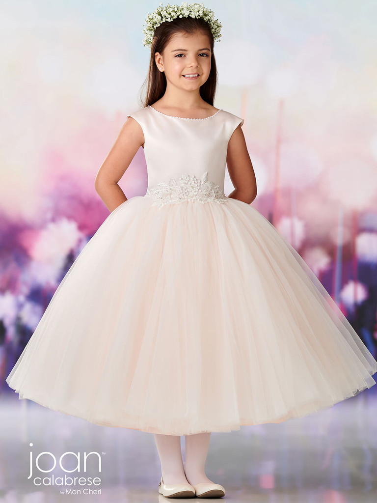Cap Sleeves Joan Calabrese 119383 First Holy Communion Dress