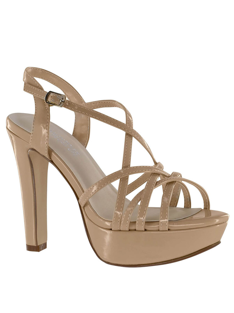 Nude Sky High Pageant Platforms Touch Ups Wren