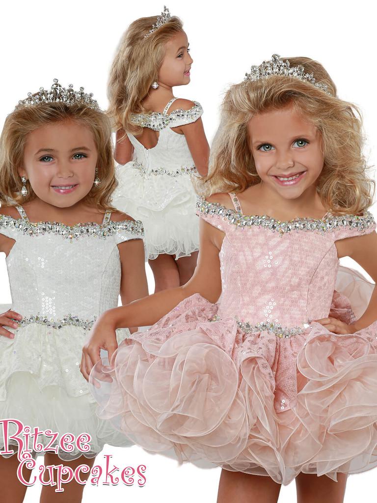Cupcake Ritzee Girls B278 Pageant Dress PageantDesigns