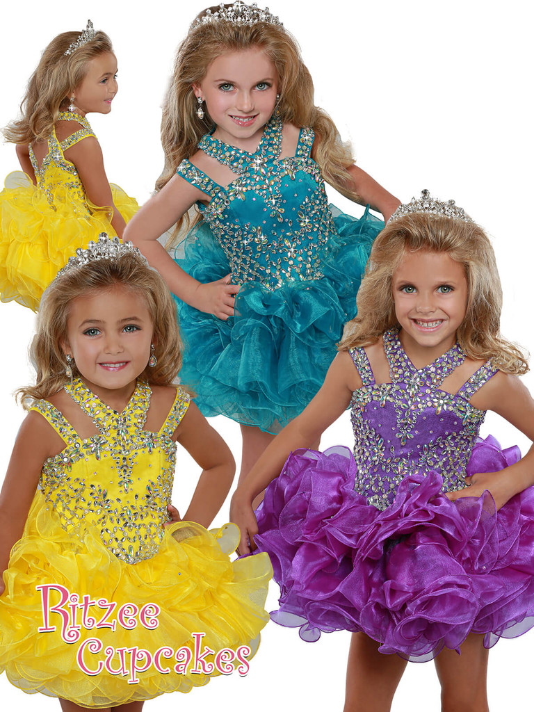 Cupcake Ritzee Girls B279 Pageant Dress PageantDesigns