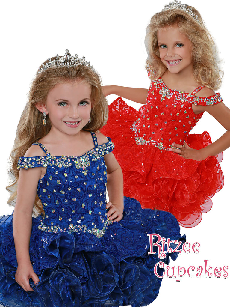 Cupcake Ritzee Girls B280  Pageant Dress PageantDesigns