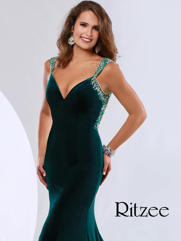 Mermaid Pageant Dress Ritzee Originals 3637