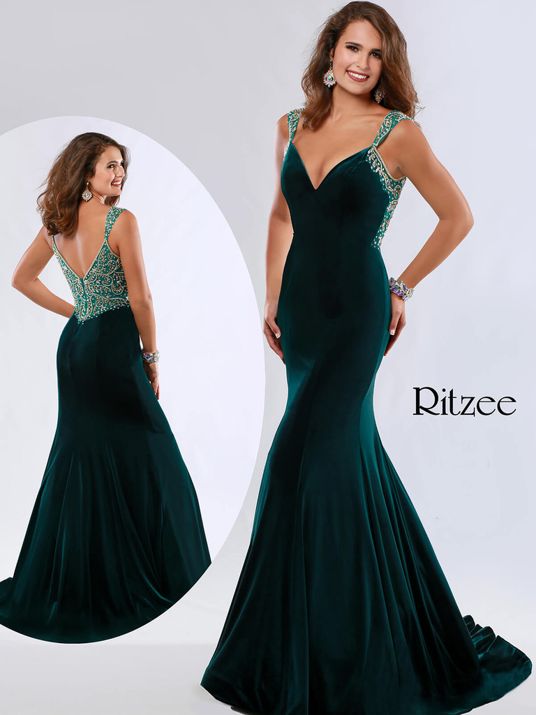 Sweetheart Ritzee Originals 3637 Pageant Dress PageantDesigns