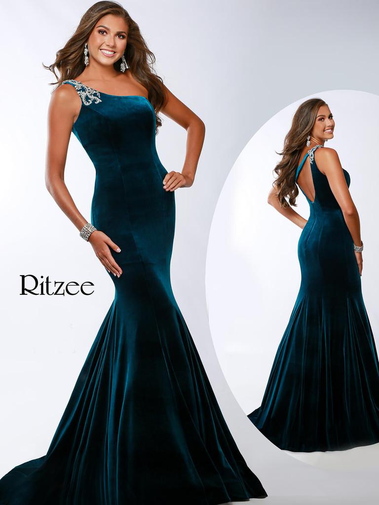 Velvet Ritzee Originals 361 Pageant Dress PageantDesigns