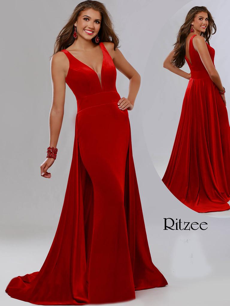 Sheath Ritzee Originals 3642 Pageant Dress PageantDesigns