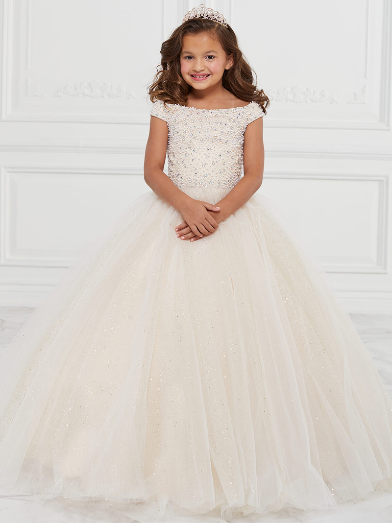 Tulle Tiffany Princess 13590 Pageant Dress PageantDesigns