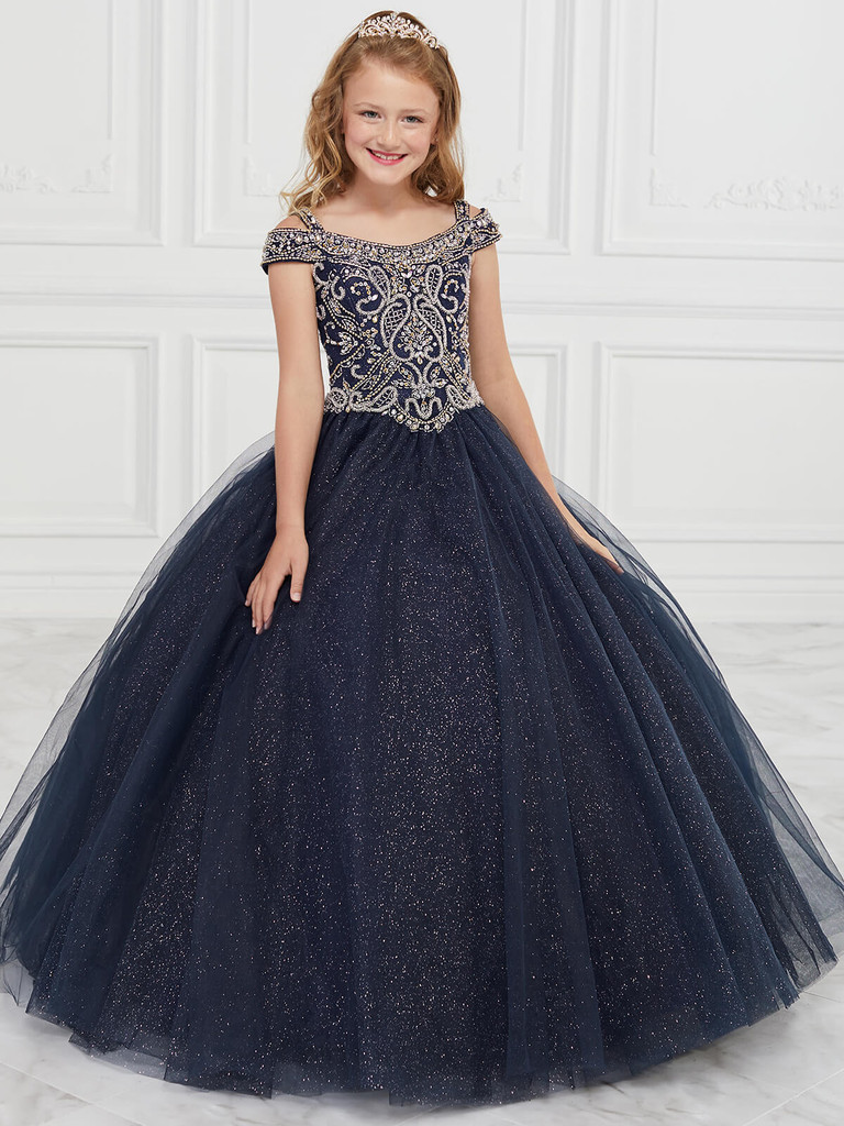 Tulle Tiffany Princess 13594 Pageant Dress PageantDesigns