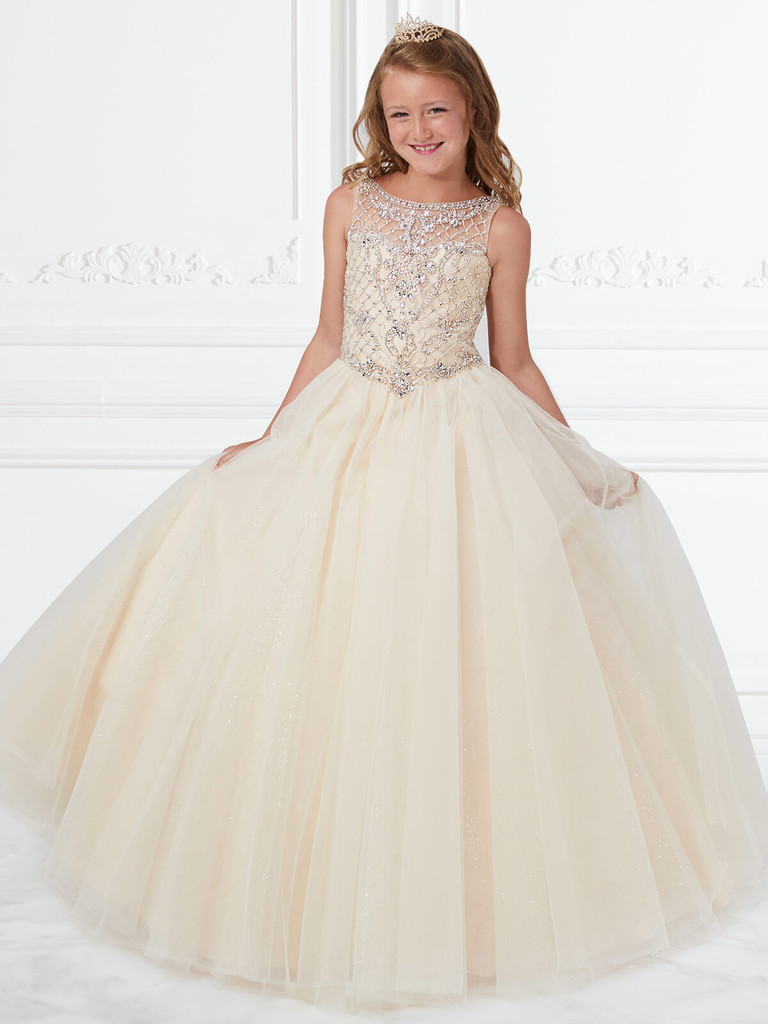 Ball Gown Girls Pageant Dress Tiffany Princess 13597
