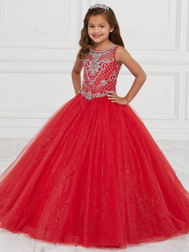 Tulle Tiffany Princess 13597 Pageant Dress PageantDesigns